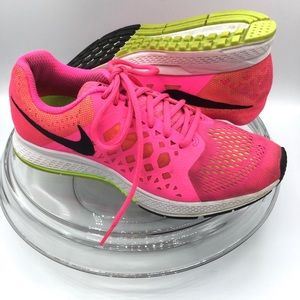 Nike Zoom Women Fucsia Running Shoes 7.5